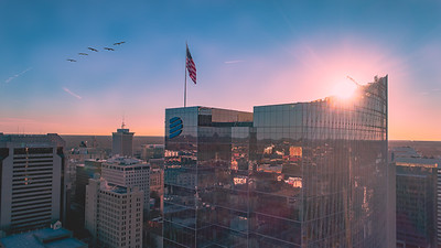 Sunrise at Dominion Energy in Richmond, Virginia