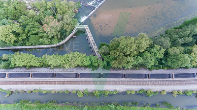 CSX Coal Train & Belle Isle Dam