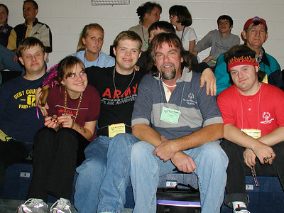 Tim and the some of the crew at the Opening Ceremonies on Saturday night....