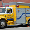 "Air-Utility 20<br /> Chassis was originally assigned to U-75 (""Electrical Support Unit"" housed at Clover Hill Co 7).  The old body was removed and the cab & chassis was sent to Pierce to have this Encore body installed."