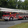 This rig was sold to private collector in Maryland in late 2010, and can now often be seen on the parade circuit.  It has been re-lettered for the Fredericksburg FD, it's original owner.