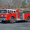 Fine Creek VFD<br /> Powhatan County, VA<br /> ex Engine 4<br /> 1986 Ford C8000/Pierce Suburban 1000/750<br /> (served as county reserve engine 2004 to 2014, then moved to training engine)