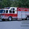 "Although lettered as Rescue 5, it carries the radio designation of ""Squad 5"" on the radio.  It is the only dedicated heavy rescue in the Chancellor fleet."