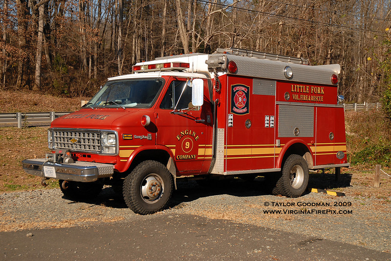 Little Fork VFD<br /> Culpeper County, VA<br /> ex-Rescue Truck<br /> 1979 Chevrolet/Hamerly<br /> ex Green Knoll VRS (Bridgewater Twp, Somerset County, NJ)