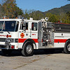 This attractive and well maintained Pierce Dash D8000 was originally delivered to the Woodstock, VA Fire Depatment, who later sold it to the Stickleyville VFD in approximately 2007.