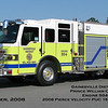 Gainesville District VFD<br /> Prince William County, VA<br /> Engine 504<br /> 2008 Pierce Velocity PUC 1500/750/40<br /> One of two, other assigned to E-524<br /> Mark Baker Photograph