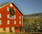 Jeter's Barn, 1871, U.S. 460, Botetourt County