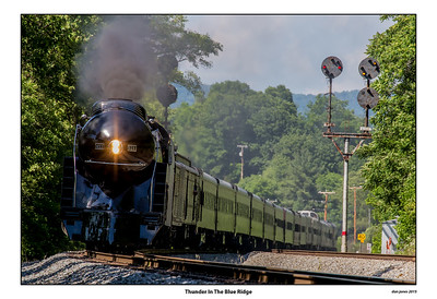 Return of the 611 Steam Engine to Its Home in Roanoke