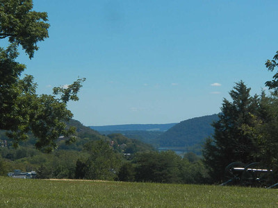 view from Bolivar Heights, August 2015