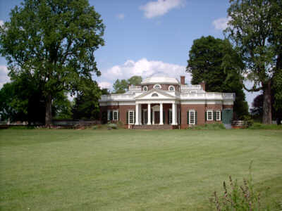 Monticello, back view, May 2006