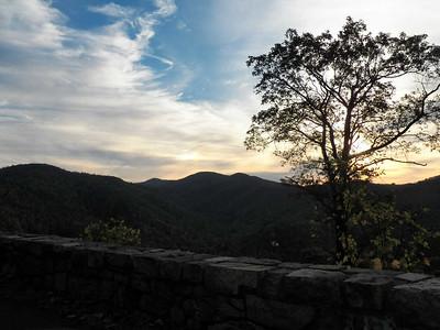 view from Belder Hollow overlook