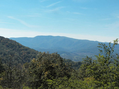 view from Dickey Ridge Visitor Center
