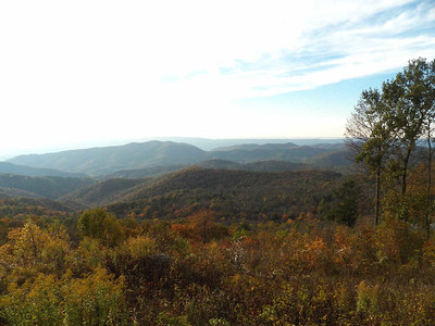 view from Bearface Mountain overlook