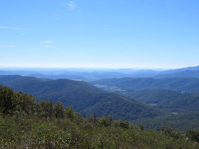 view from Rangeview overlook, Skyline Drive, Shenandoah National Park, October 19,2018
