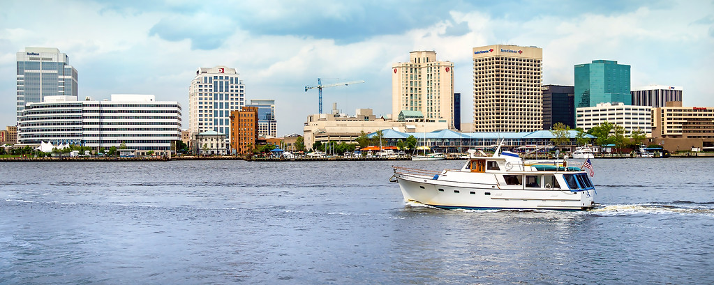 Downtown Norfolk on the Elizabeth River