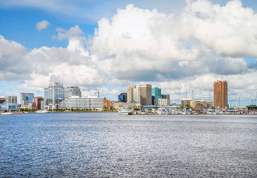 Norfolk Virginia - Downtown Waterfront