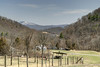 View of Whitetop Mountain in the distance from Highway 58 near Abingdon, VA on Monday, March 31, 2014. Copyright 2014 Jason Barnette