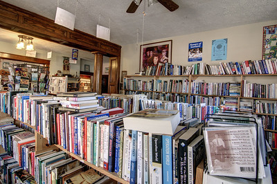 Loads of used books in several rooms of a large house at the Tales of the Lonesome Pine Bookstore in Big Stone Gap, VA on Thursday, April 24, 2014. Copyright 2014 Jason Barnette