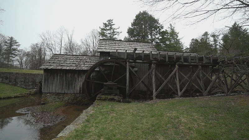 Mabry Mill (MP 176.1) along the Blue Ridge National Parkway in Virginia