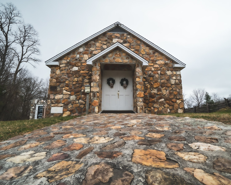 Bluemont Presbyterian Church in Fancy Gap Virginia
