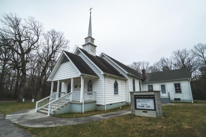 United Methodist Church in Fancy Gap Virginia