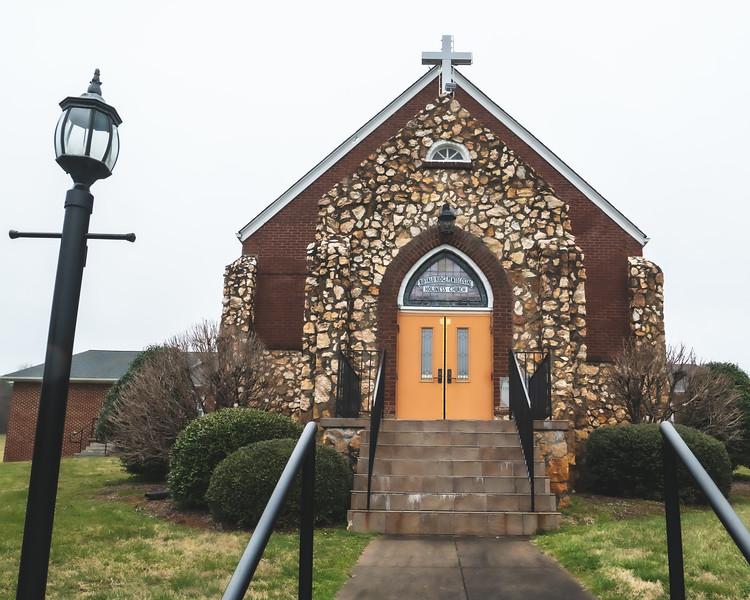 Buffalo Ridge Pentecostal Holiness Church in Stuart Virginia