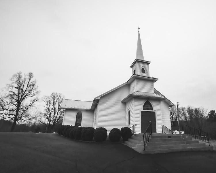 United Methodist Church in Woolwine Virginia