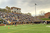 Fans fill the stands during the Homecoming Football Game as the Wasps took on the Hampden-Sydney College Tigers, at Emory & Henry College in Emory, VA on Saturday, October 19, 2013. Copyright 2013 Jason Barnette