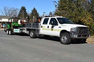 Remington's Utility 2 pulls Gator 2, a 2008 John Deere with a 55 gwt.