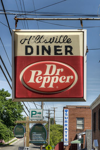 A rustic sign at the Hillsville Diner on Main Street in Hillsville, VA on Thursday, May 30, 2013. Copyright 2013 Jason BarnetteHillsville, VA on Thursday, May 30, 2013. Copyright 2013 Jason Barnette