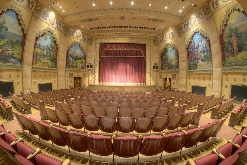 The historic Lincoln Theatre in Marion, VA on Wednesday, August 7, 2013. Copyright 2013 Jason Barnette