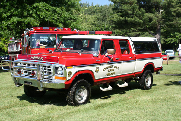"""Unit 44""<br /> 1977 Ford F-250/Leonard<br /> Support Unit<br /> ""Homer""<br /> <br /> Micah Bodford Photo"
