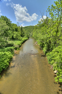 View of a river from a trestle at New River Trail State Park in Galax, VA on Friday, May 31, 2013. Copyright 2013 Jason Barnette