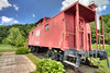 A caboose sits at the beginning of New River Trail State Park in Galax, VA on Friday, May 31, 2013. Copyright 2013 Jason Barnette