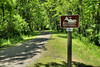 A sign along the trail at New River Trail State Park in Galax, VA on Friday, May 31, 2013. Copyright 2013 Jason Barnette