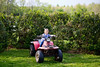Remi back on the four wheeler - 4-27-2013
