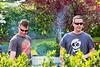 Goodwin and Jon and steak smoke - 4-27-2013