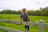 Remi back up on the fence - 4-27-2013