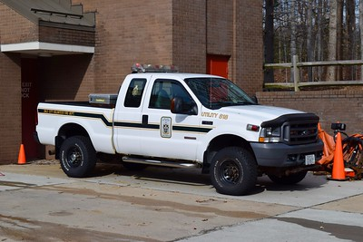 Utility 518 is a 1990's Ford F-350.