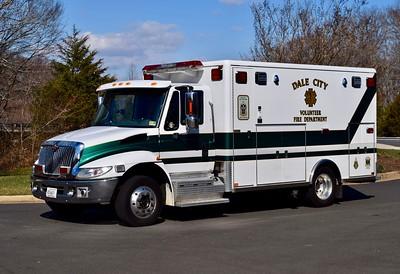 Medic 518B, a 2006 International/Horton.