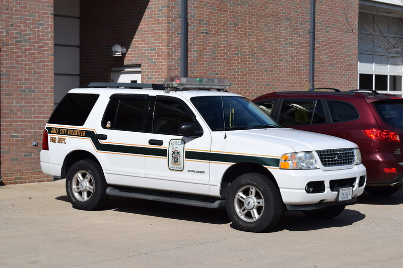 Dale City support unit - a Ford Explorer.