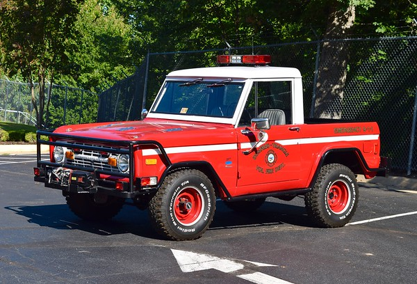 Dumfries Fire still owns this 1977 Ford Bronco, formerly used as a brush truck.