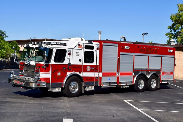 Rescue 503 is a large 2015 E-One Cyclone II with serial number 139286.