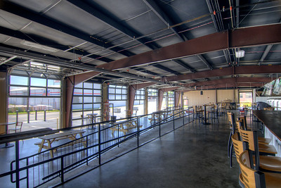 Soaring Ridge Brewery, craftily constructed inside an old Sunbeam Bread distribution facility, on Shenandoah Avenue in Roanoke, VA on Friday, July 4, 2014. Copyright 2014 Jason Barnette