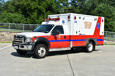 Photographed one the last day this 2006 Ford F450 4x4/Horton would be at Great Falls, Virginia.  On July 14, 2019, it was donated to the Bergton, Virginia Volunteer Fire Company in Rockingham County.