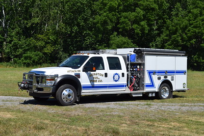 Attack 55 is a 2008 Ford F550/M&W, 750/300, sn-T1054.  This truck has a manual transmission.