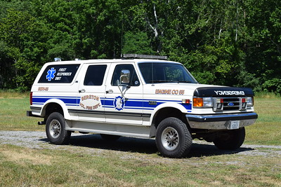 SERV 55 is a 1990 Ford C350 Classic/Centurion/Swab used as a first responder unit.    Purchased from the Friendship Fire Company in Winchester, Virginia.  Sold to a private owner in 2019.