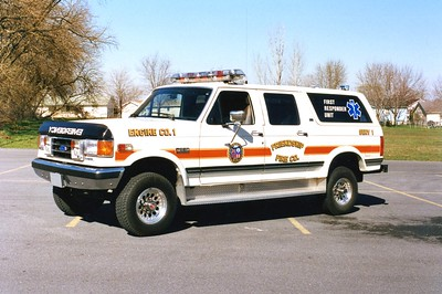 SERV 1 was this 1992 Ford F/Centurion.  Sold to Bergton, Virginia (Rockingham County).
