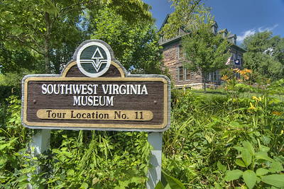 The Southwest Virginia Museum Historical State Park in Big Stone Gap, VA on Friday, July 26, 2013. Copyright 2013 Jason Barnette