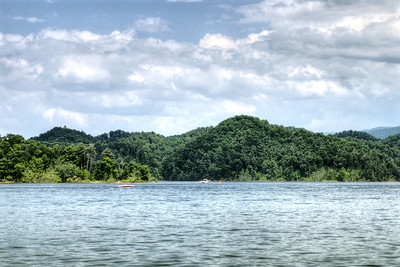 The view of South Holston Lake near Bristol, TN on Sunday, June 9, 2013. Copyright 2013 Jason Barnette